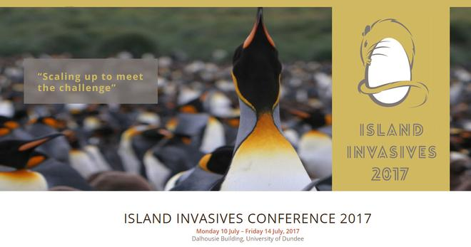 PonDerat at the Island Invasives Conference 2017